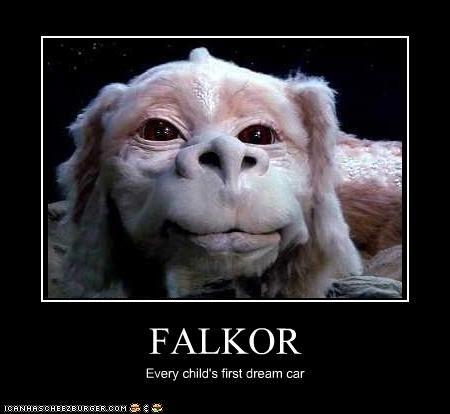 Falkor The Neverending Story Neverending Story Movie Ending Story