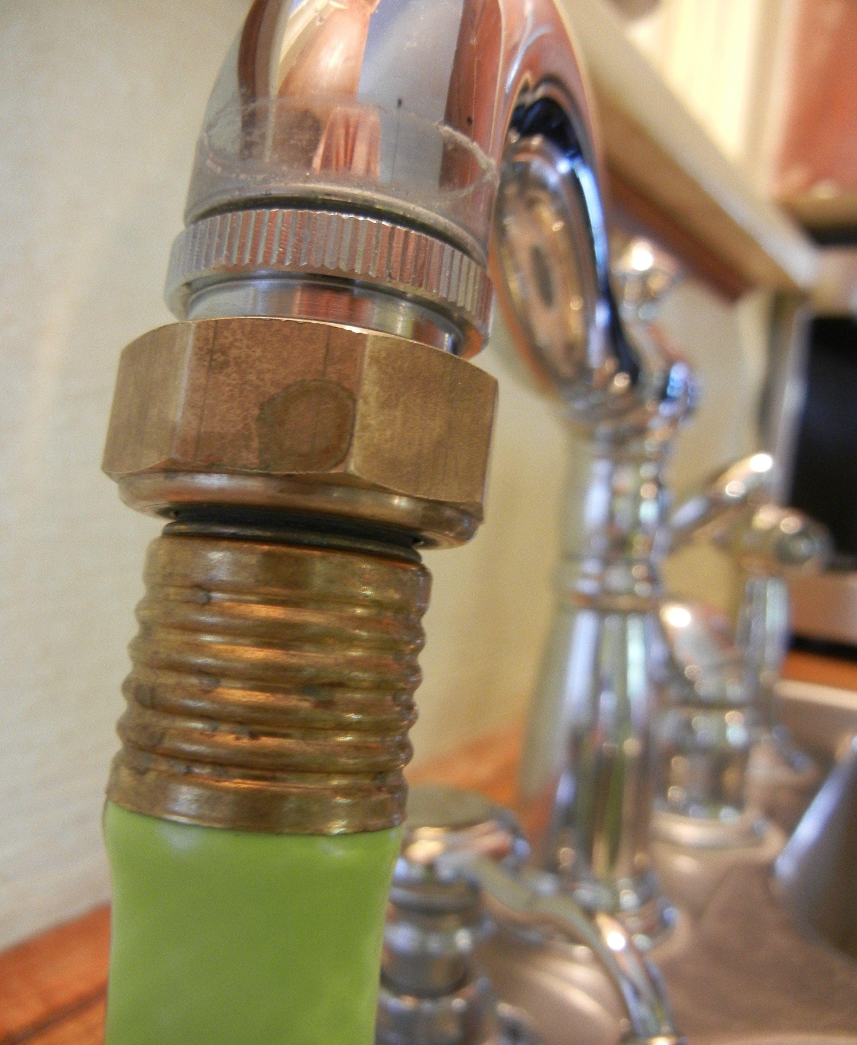 Kitchen Sink Garden Hose Adapter | garden hose nozzle & holder ...