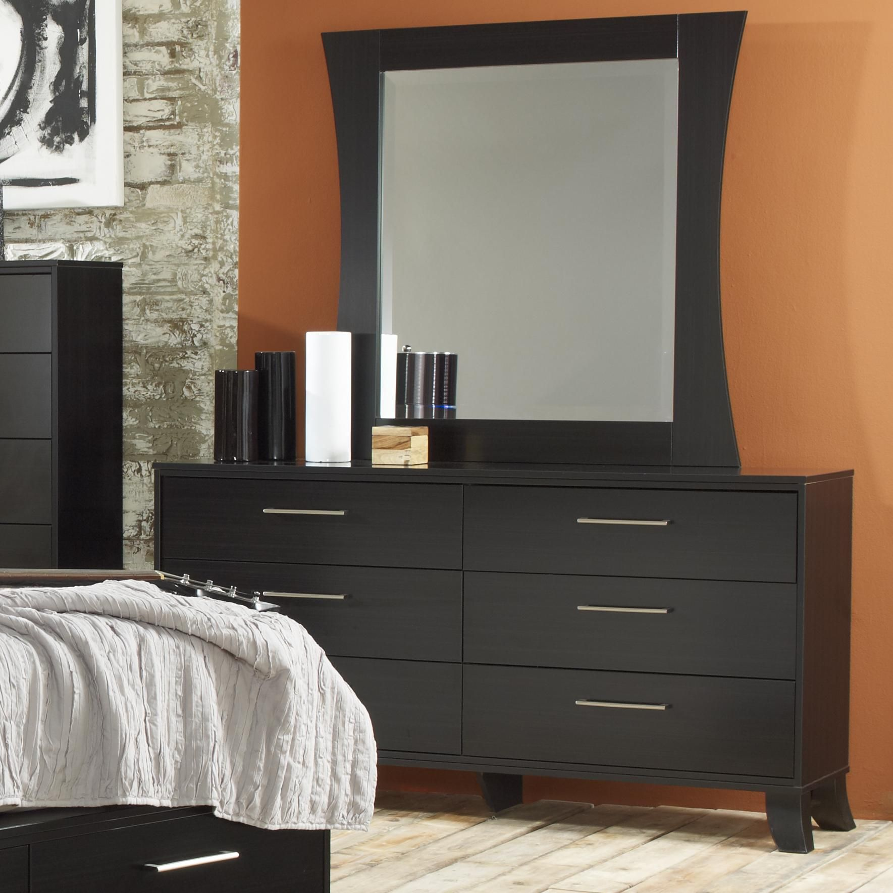 16 Black 6 Drawer Dresser With Mirror In Bedroom For You A Very Long Dresser Isn T Almost Bedroom Chest Of Drawers Dresser With Mirror White Bedroom Furniture [ 1769 x 1769 Pixel ]