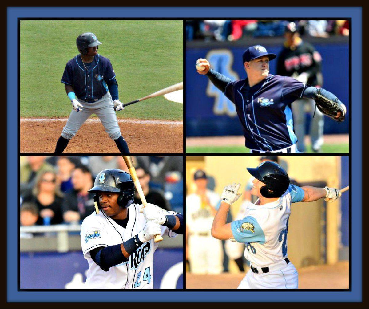 Four wilmington blue rocks named to carolina league all