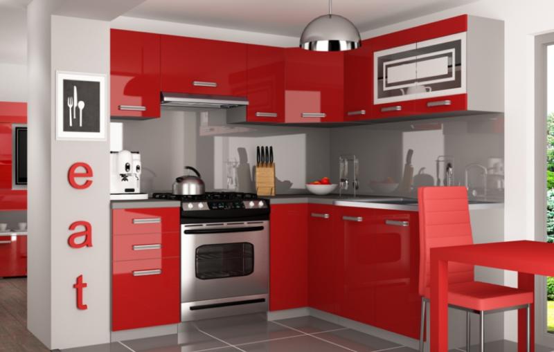 Super schöne und moderne Hochglanz Küche \