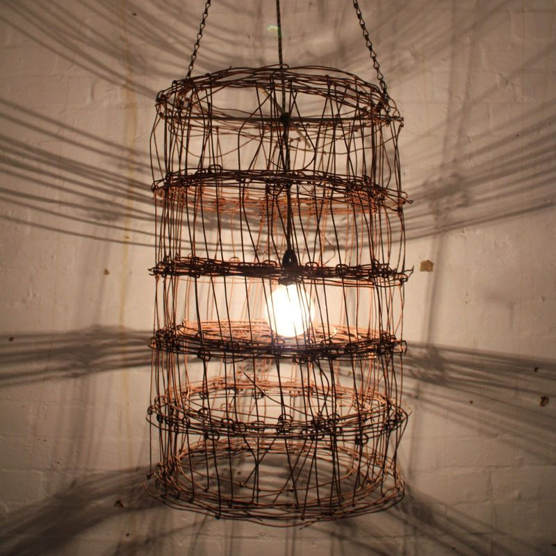 Cylinder wire light fitting | Light fittings, Lights and Outdoor ...