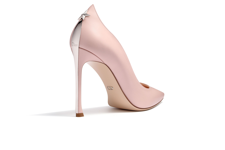 bbb2a9750b81 柔粉红色小牛皮高跟鞋,鞋跟10厘米 - Dior