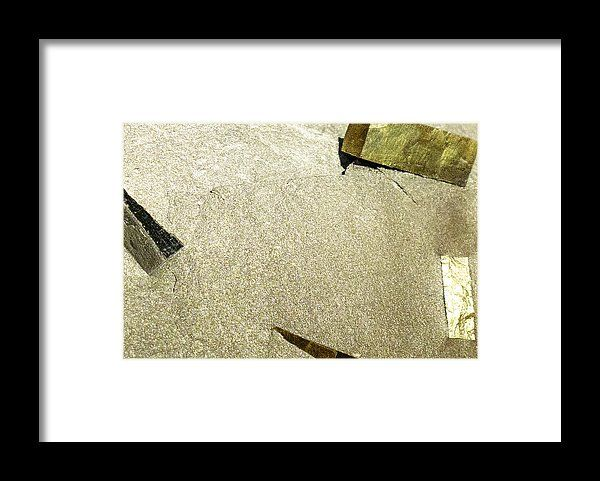 Product Framed Print featuring the photograph Pyrite by Vanessa Branton