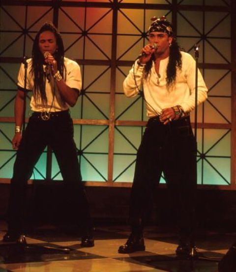 milli vanilli - yes, I will admit to it ... but at least the tickets were free!