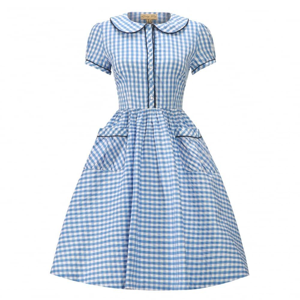 46++ Blue gingham dress ideas