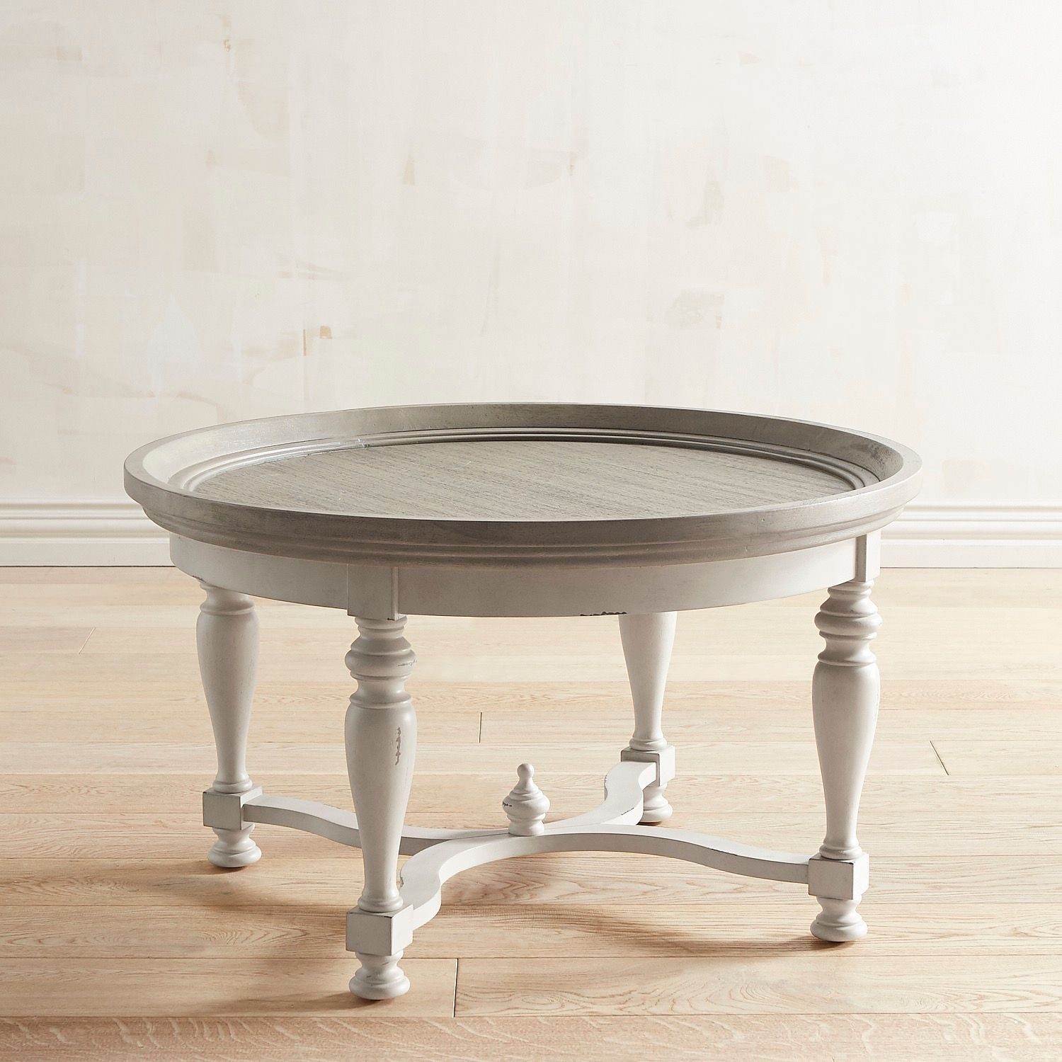 Amelia Shadow Gray Round Coffee Table Pier 1 Imports Coffee