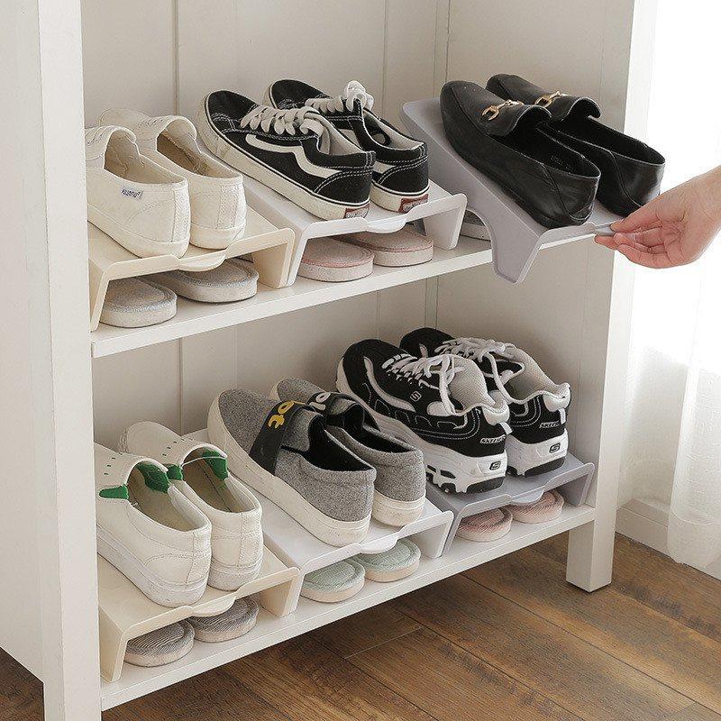 Podwojny Organizer Na Buty Artykuly Gospodarstwa Domowego Xdomowo Pl Shoe Rack Living Room Shoe Rack Organization Shoe Rack