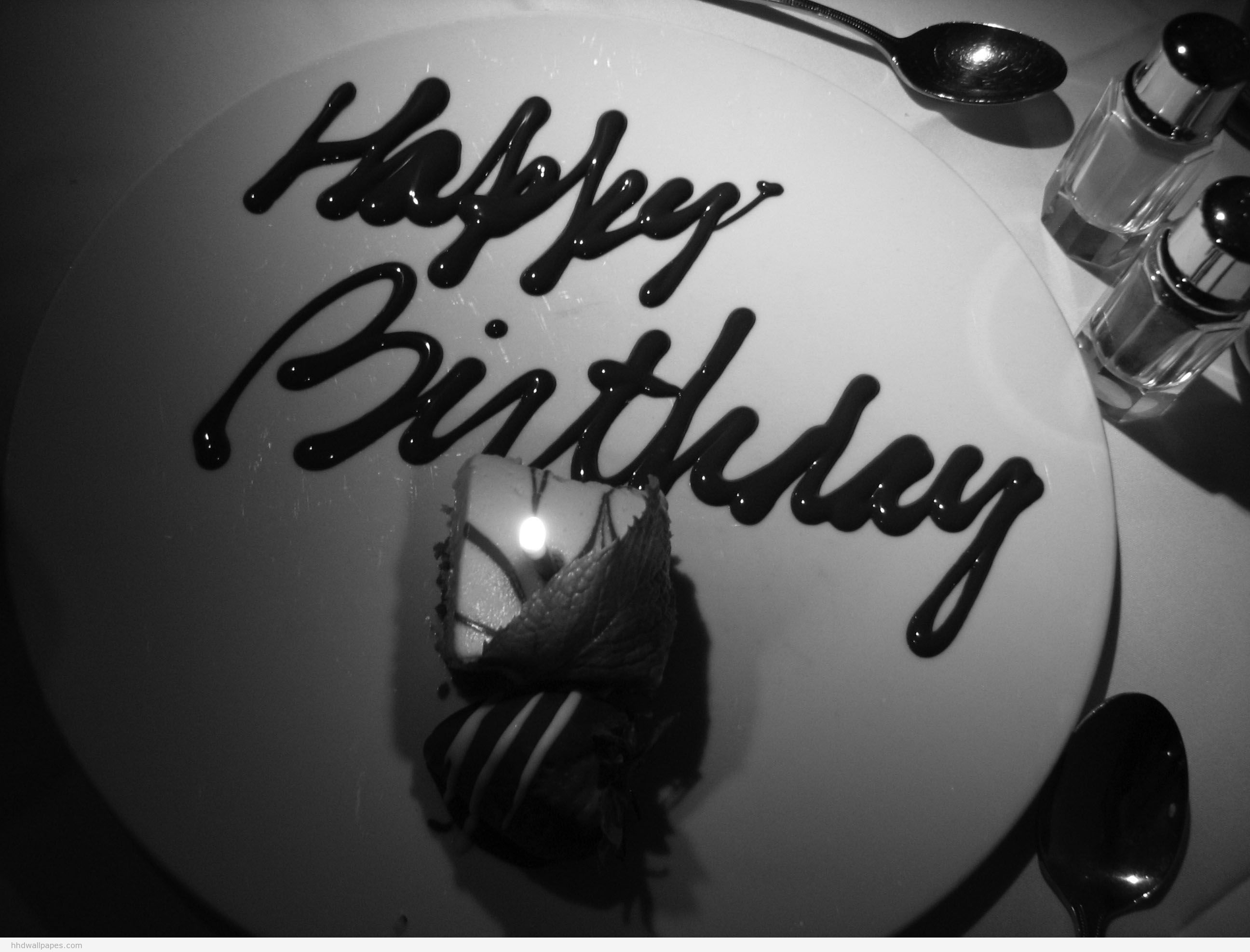 amaizing and beautiful Happy Birthday wishes black and white photo and wallpapers | Fine Wallpaperss