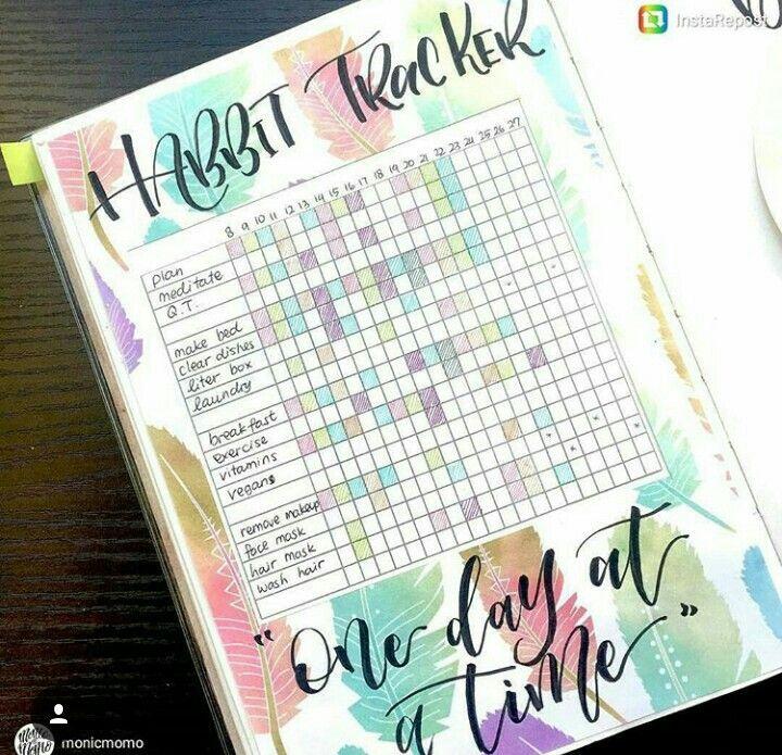 Pin by Alliya Dodson on Bullet Journal Ideas \u003c3 Pinterest Bullet