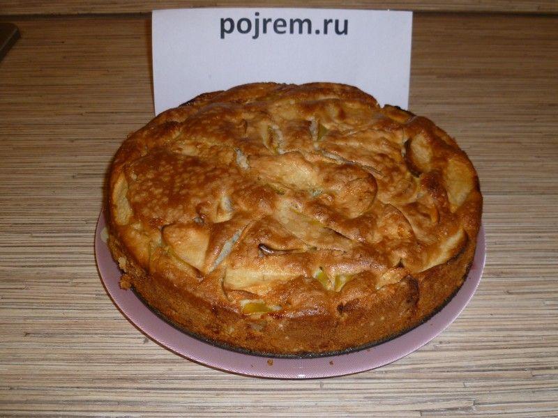 шарлотка с яблоками рецепт с фото простой рецепт