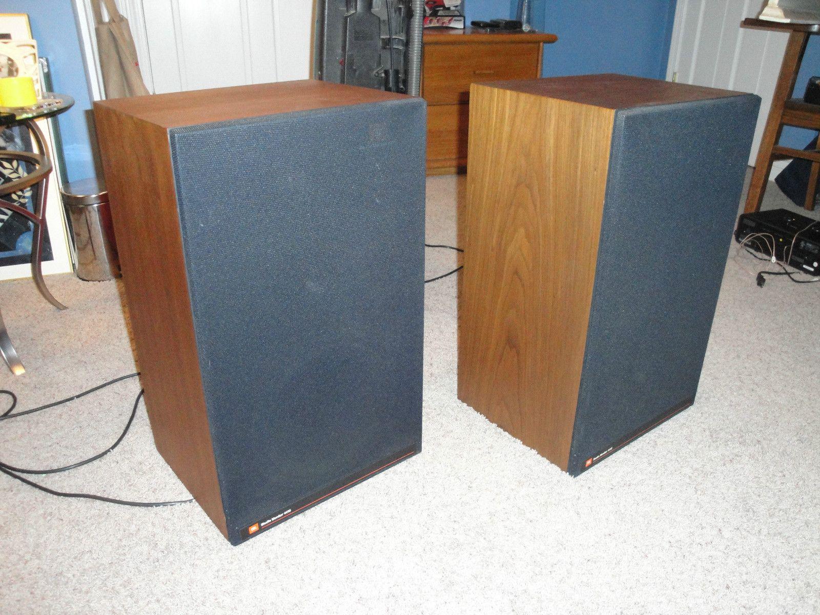 Blast from the past JBL 4400 Studio Monitors