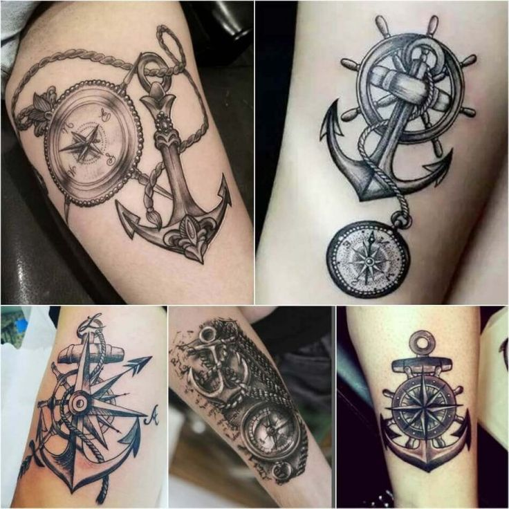 The best #tattoos and #tattoodesings Compass Tattoo Designs - Popular Ideas for Compass Tattoos with Meaning