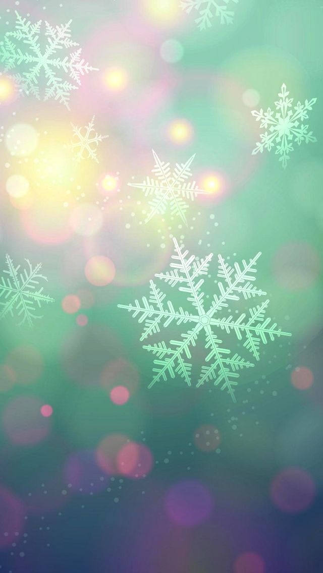 Snowflakes Christmas Wallpaper Wallpaper Iphone Christmas Holiday Wallpaper Winter Wallpaper