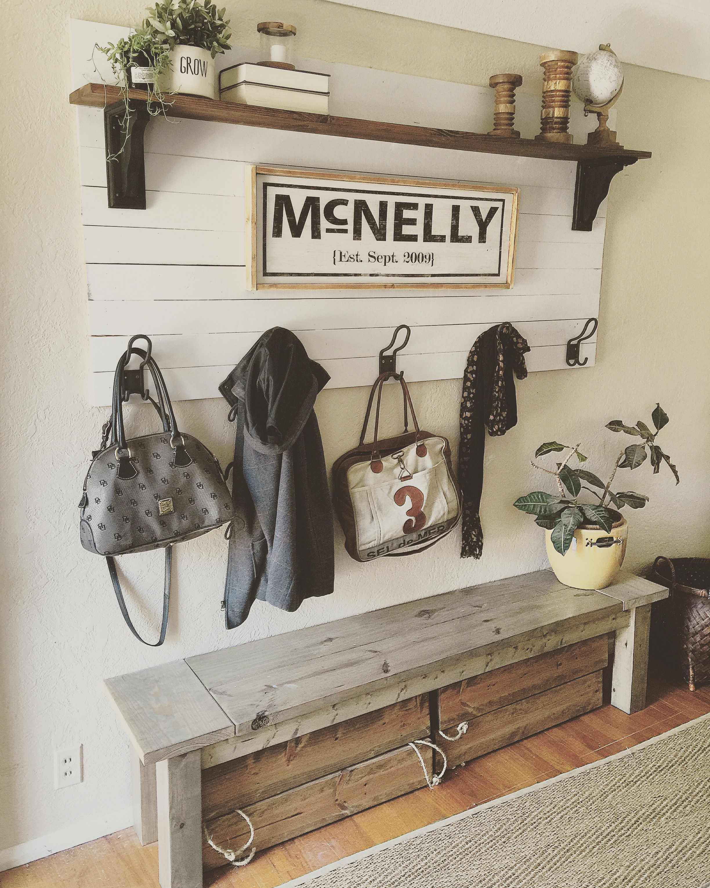 Shiplap Coat Rack Shiplap Coat Rack