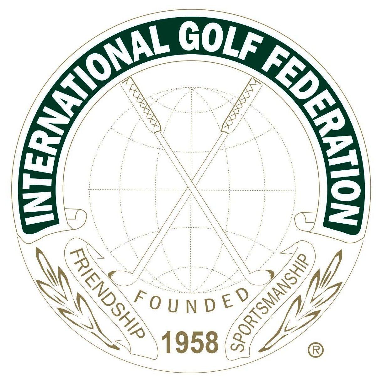 International Golf Federation (IGF) Logo [EPS File