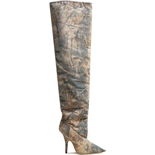 YEEZY Canvas Tubular Thigh High Boots 110 Mm (1'235 CHF