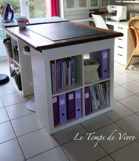 Aménager son atelier (1)  la table de découpe Tuto inside - Le