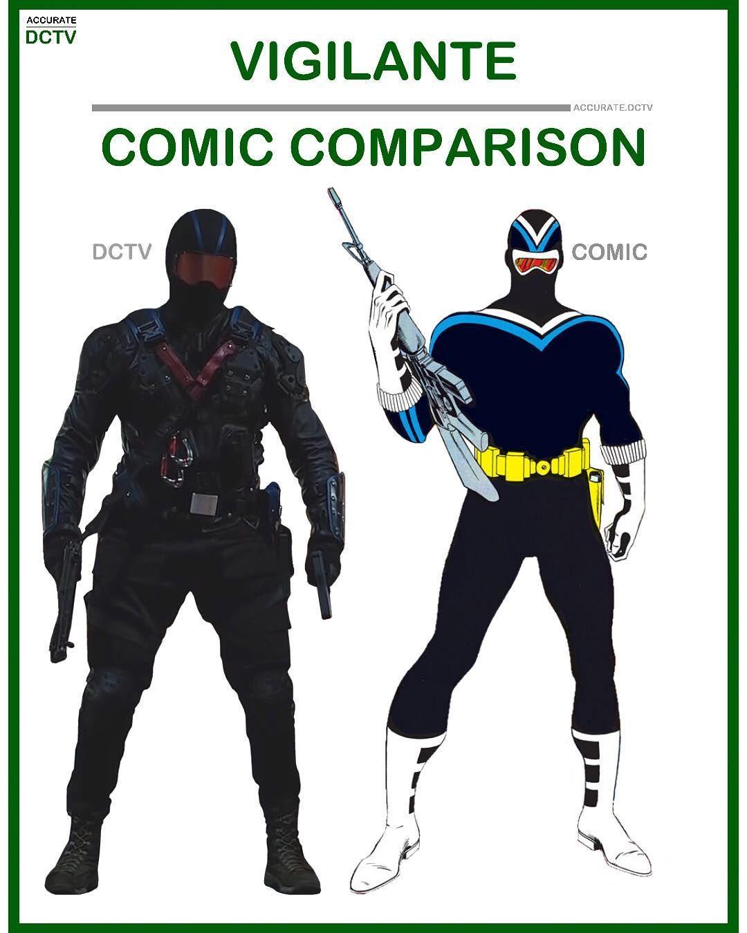 30++ Vigilante comic info