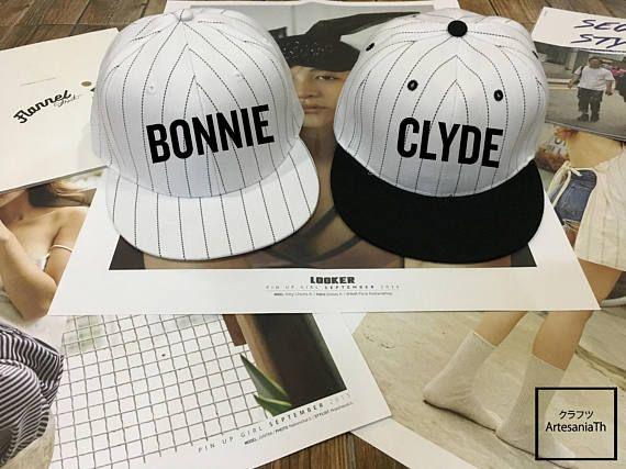 Bonnie Clyde Snapback set - Matching Baseball hat 2af4ec14fbe
