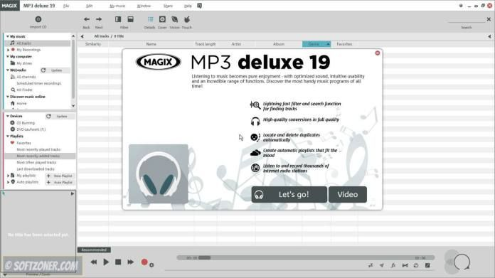 Download MAGIX MP3 deluxe 19 for Free  | Software Downloads