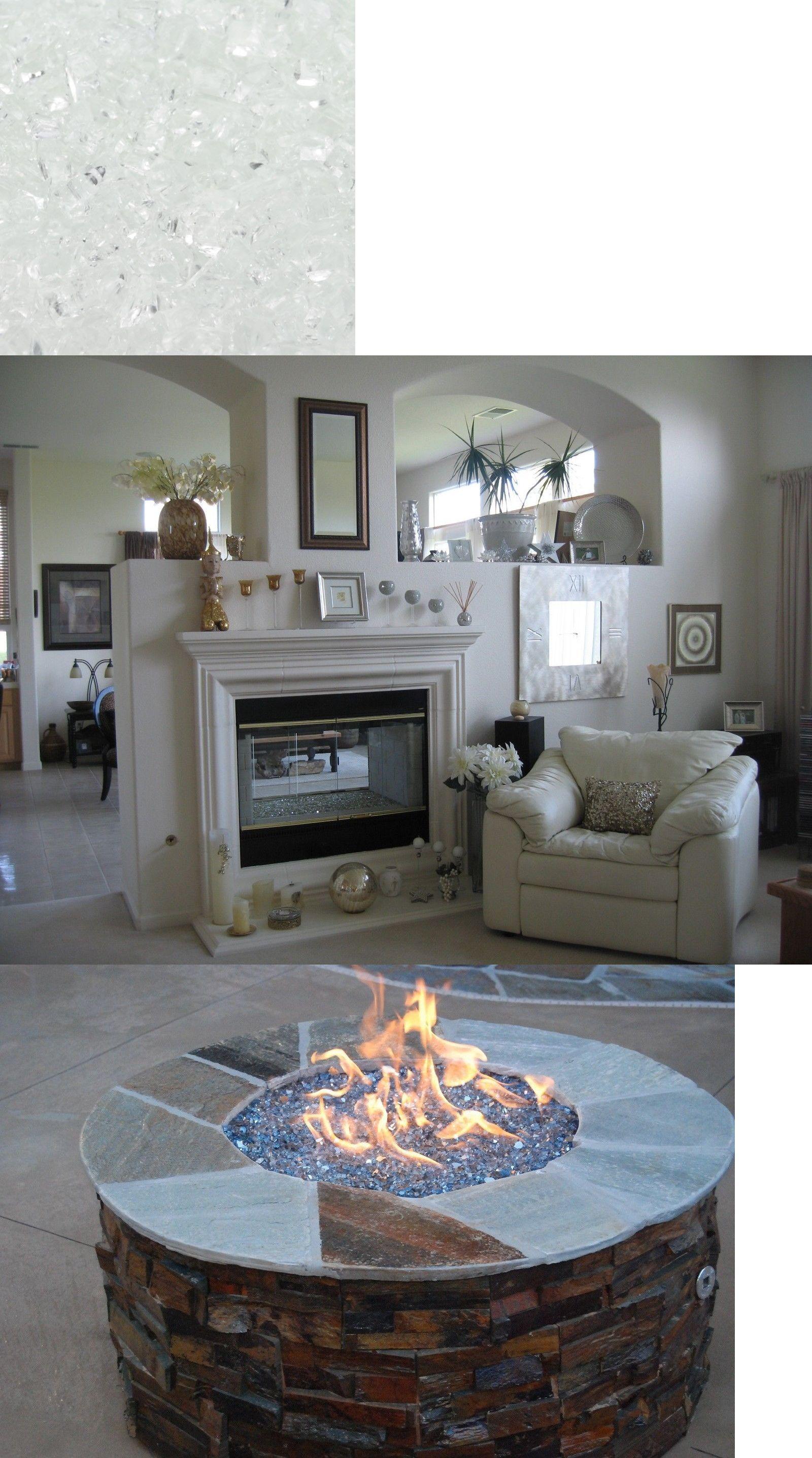 Surprising Decorative Logs Stone And Glass 38220 Crushed Ice Starfire Home Interior And Landscaping Sapresignezvosmurscom