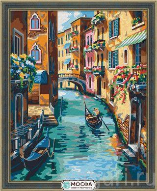 """990.00 руб. """"Венецианский канал"""" Набор для раскрашивания ..."""