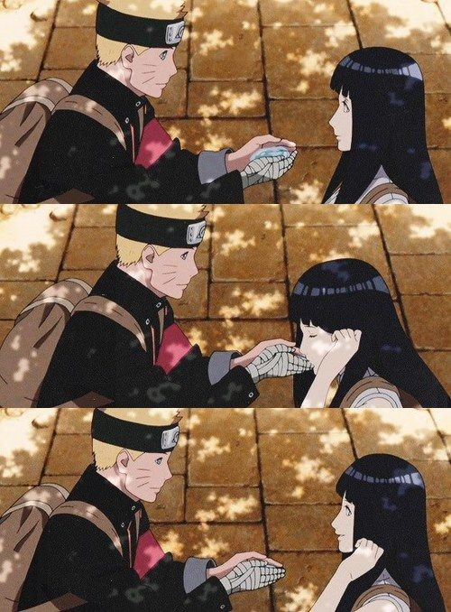 Imagen de naruto, anime, and hinata