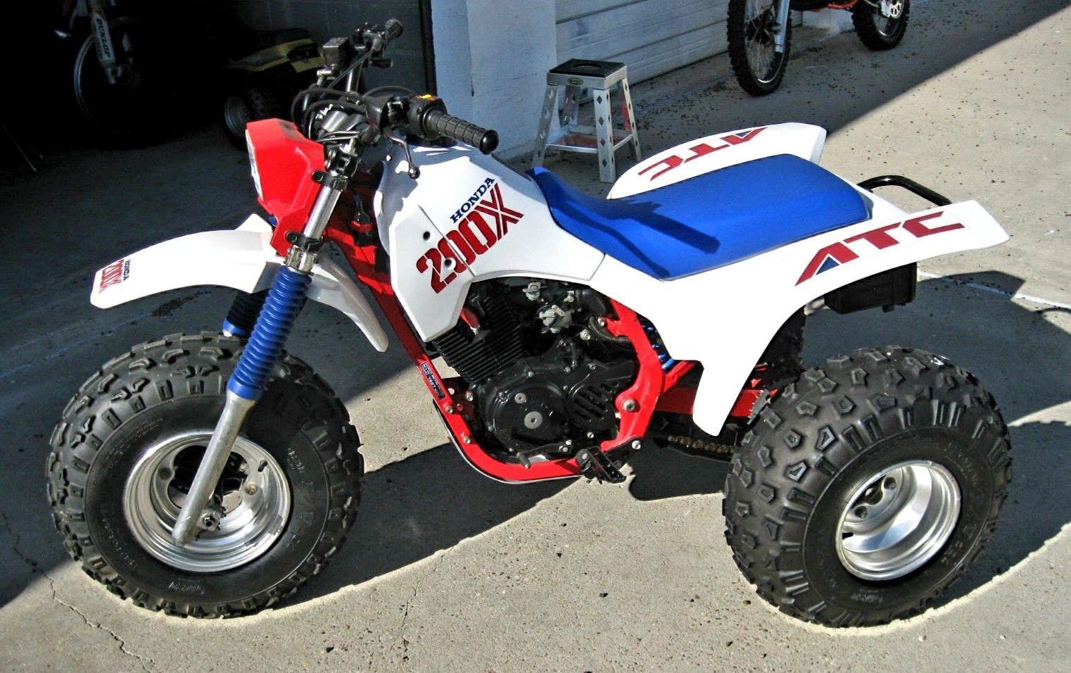 1987 Honda Atc 200x Drift Trike Honda Trike