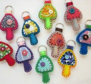 key chain ideas. great little gifts