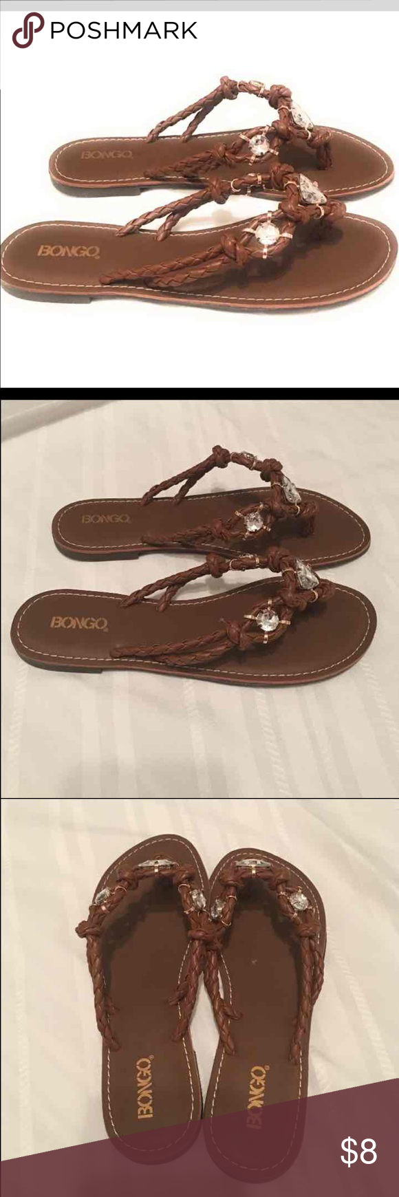 3174d73c0 Bongo women flip flop New Bongo women flip flop Brown Size 9m BONGO Shoes  Sandals