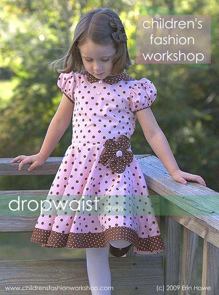 Tutorial Kleid nähen - dropwaist dress - design projects ...