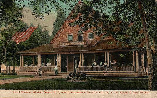 Hotel Windsor Beach Lake Ontario West Irondequoit Ny