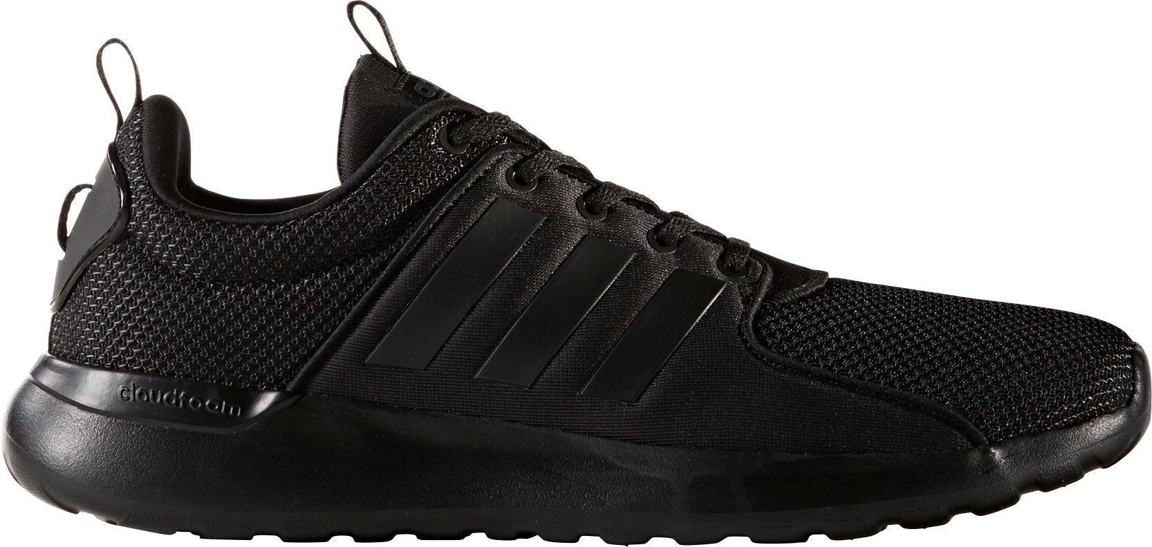 adidas Neo Men's Lite Racer Casual Shoes, Size: 13.0, Black