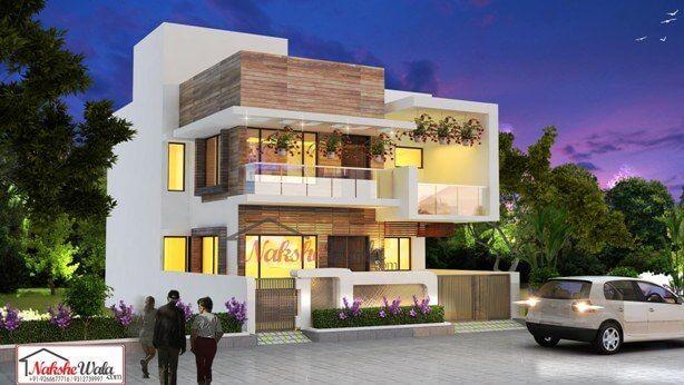 Contemporary House Elevation Modern Designs For House India House Elevation Contemporary House Duplex House Design