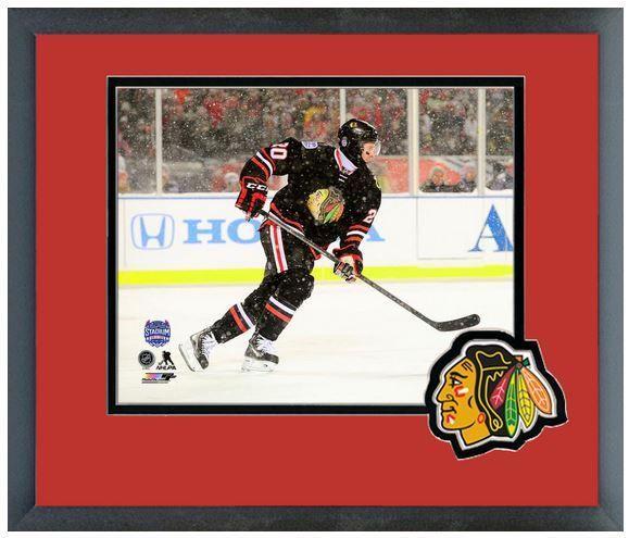 Brandon Saad Chicago Blackhawks 2014 NHL Stadium Series - March 2,2014