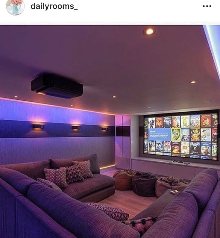 Cozy Hometheater: Life-changing Finished Basement Home Theater