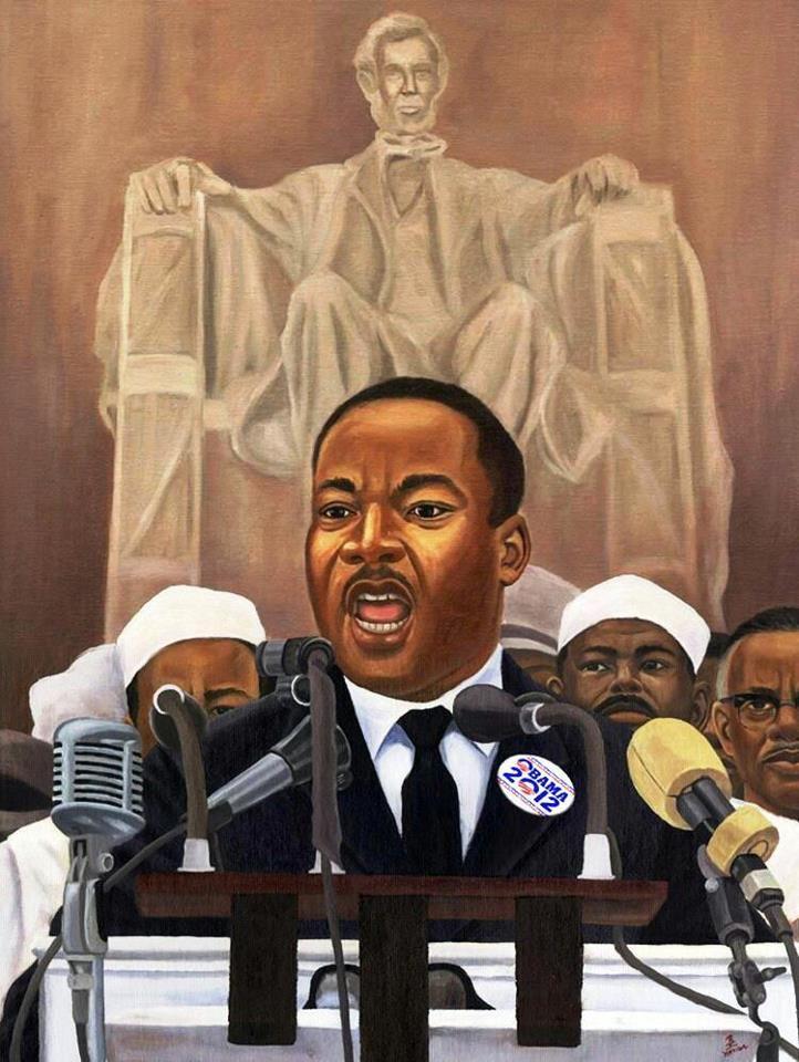 Martin Luther King Jr Artwork