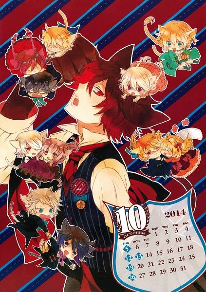 Tags: Pandora Hearts, Gilbert Nightray, Xerxes Break, Will of the Abyss, Vincent Nightray, Elliot Nightray