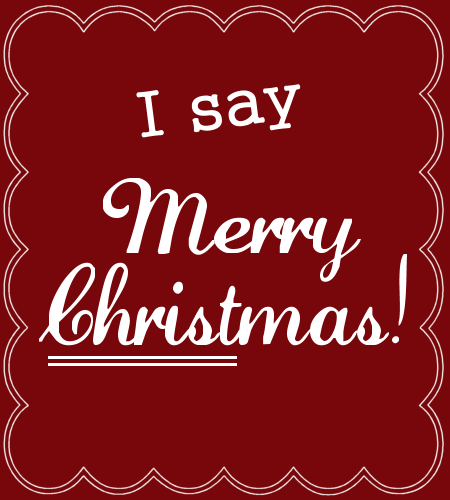 Merveilleux I Say Merry Christmas: Creative Ladies Ministry #Christmas #quote