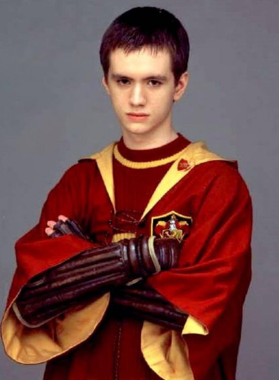 Oliver Wood! He is my Harry Potter fictional boyfriend!!! I love him <3
