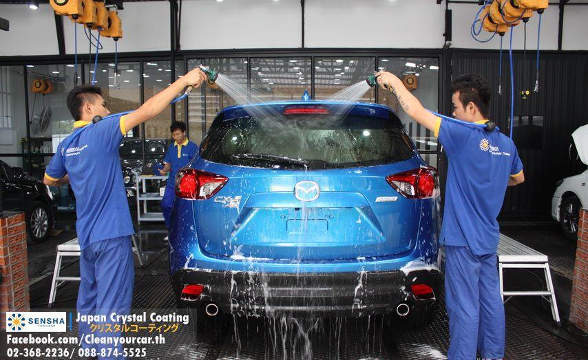 Premium Car Wash MAZDA CX Car Detailing Shop SENSHA THAILAND - Mazda detailing