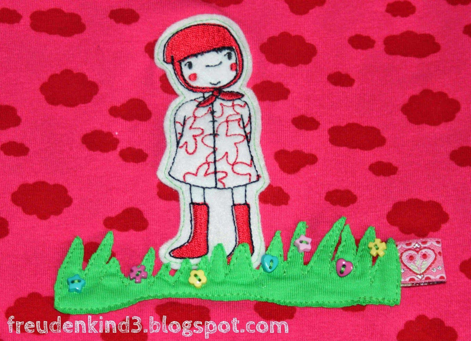 freudenkind: Näh-Problemlöser: Blumenwiese statt Loch