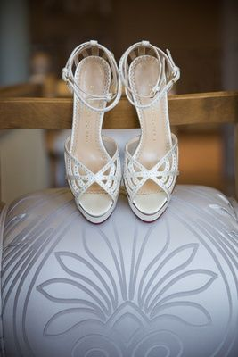 White Summer Wedding Shoes Photography Jay Lawrence Goldman