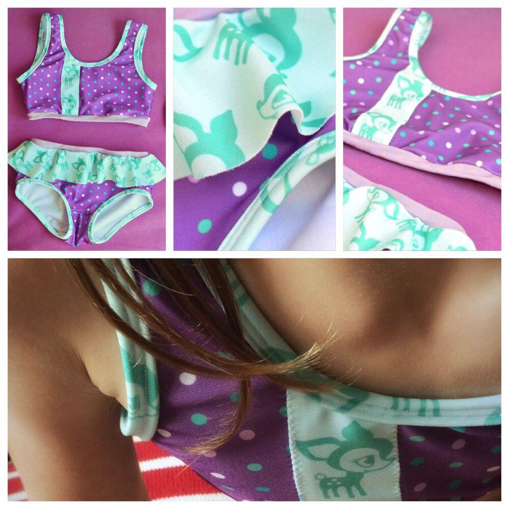 Badesachen für alle: Schnittmuster Badeanzug & Bikini | Selber nähen ...
