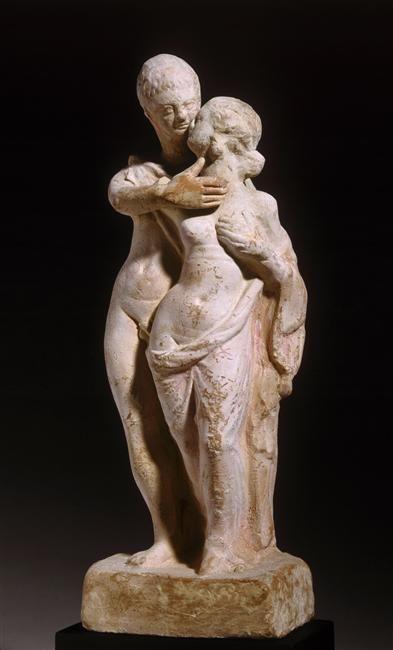 Couple, Antiquités grecques, étrusques et romaines / Greek, Etruscan and Roman Antiquities © RMN-Grand Palais - Gérard Blot
