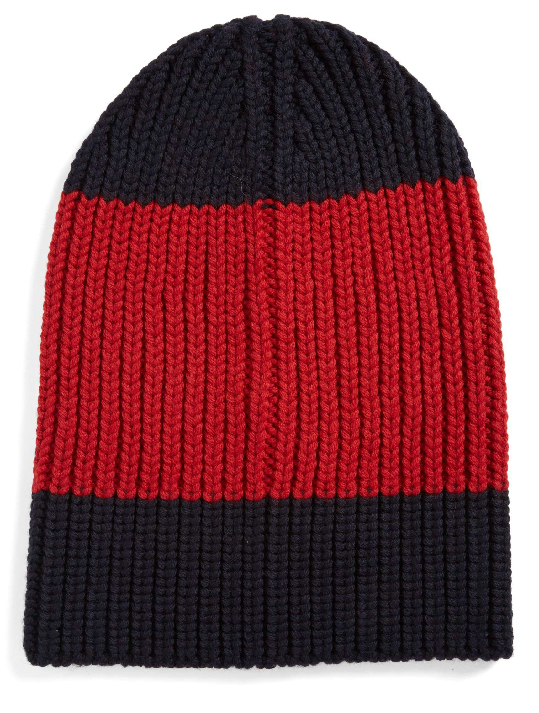 Best Mens Winter Beanies 2017  Gucci Colorblock Wool Hat 2018 ... b8a18d054db