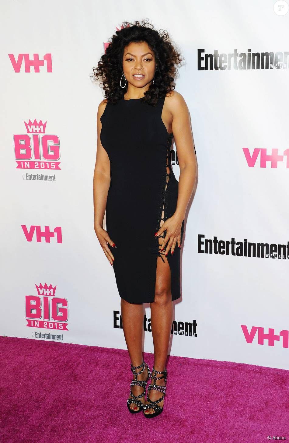 PHOTOS Taraji P. Henson assiste à l'émission VH1 BIG in