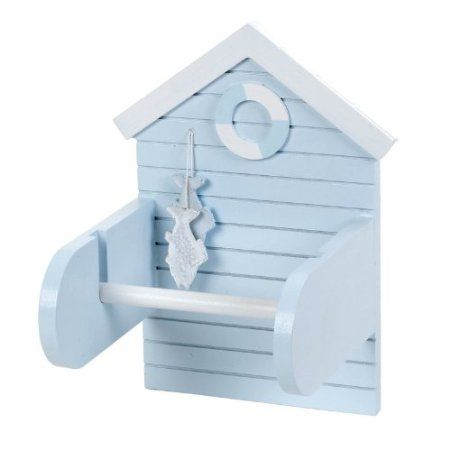 Salco 15 X 20 Cm Beach Hut Toilet Roll Holder Amazoncouk Entrancing 15 X 20 Kitchen Design Inspiration