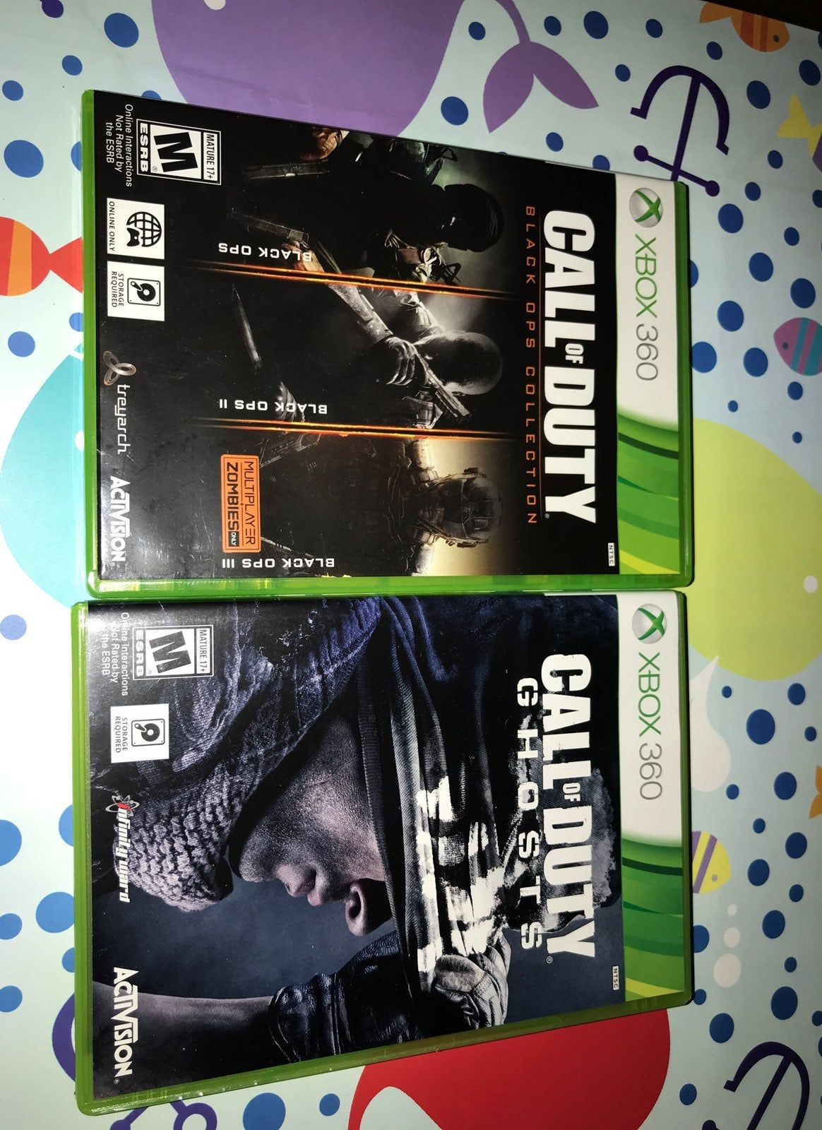 Check Out My Call Of Duty Black Ops 1 2 3 And Call Of Duty Ghost